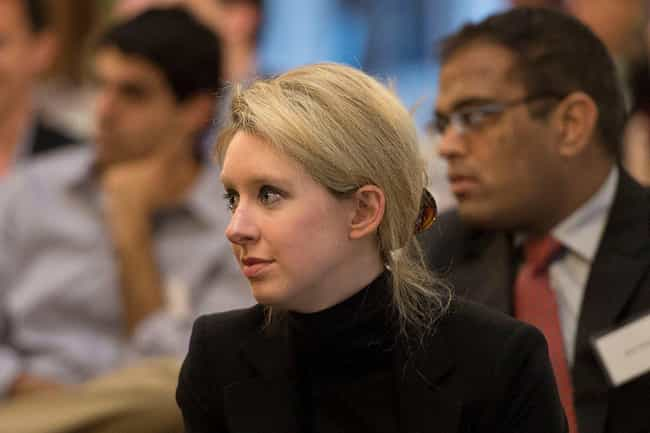 July 2010: An SEC Filing Claim... is listed (or ranked) 3 on the list A Complete Timeline Of The Theranos And Elizabeth Holmes Scandal