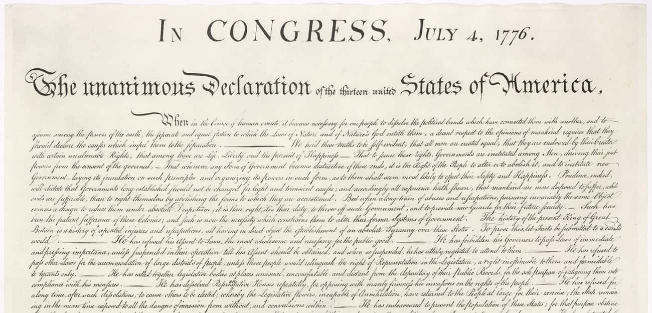MYTH: The Continental Congress is listed (or ranked) 1 on the list Myths About Colonial America, Debunked
