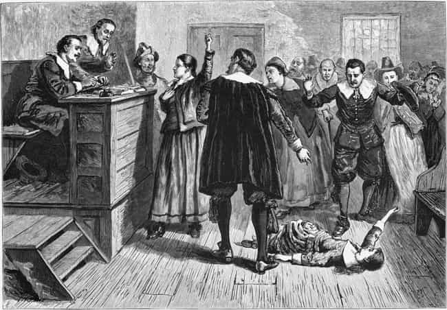 MYTH: Witches Were Burnt At Th... is listed (or ranked) 2 on the list Myths About Colonial America, Debunked