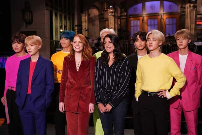 Ep. 18 - Emma Stone / BTS is listed (or ranked) 4 on the list The Best Episodes from Season 44 of Saturday Night Live