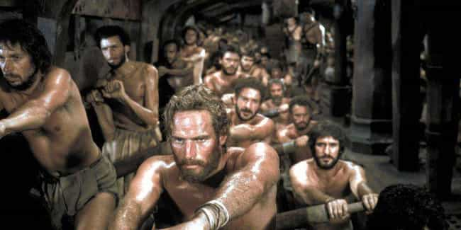 MYTH: Slaves Rowed Naval Ships is listed (or ranked) 2 on the list Myths About Ancient Rome, Debunked