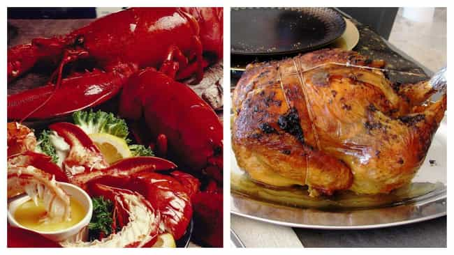 1930s: Lobster, Capon, Potatoe... is listed (or ranked) 4 on the list Here's What Foodies Ate In Every Decade Since The Turn Of The 20th Century