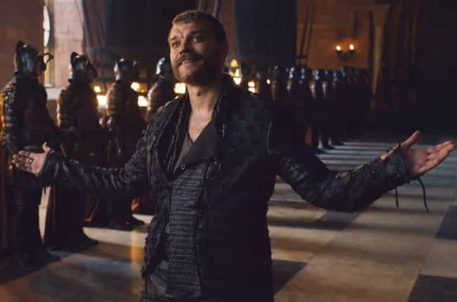 Euron Will Be Tricked Into Thi... is listed (or ranked) 1 on the list The Internet Is Blowing Up With Some Wild Theories About Cersei's Baby In 'Game Of Thrones'