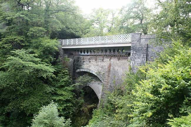 The Devil's Bridge In Wales is listed (or ranked) 8 on the list These Earthly Items And Places Are Said To Come Straight From The Devil