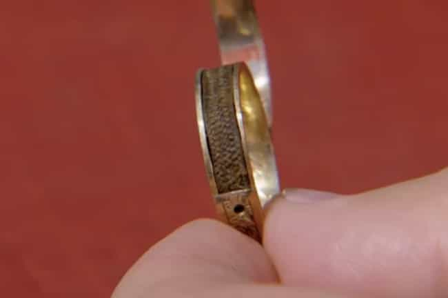 A Ring With Charlotte Brontë's... is listed (or ranked) 1 on the list 16 Times People Found Valuable Things in Abandoned Places