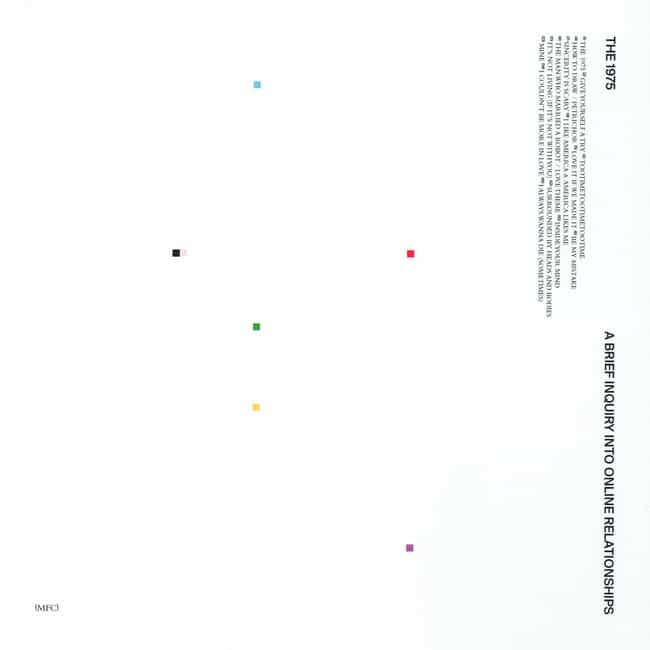 A Brief Inquiry into Onl... is listed (or ranked) 1 on the list The Best The 1975 Albums, Ranked