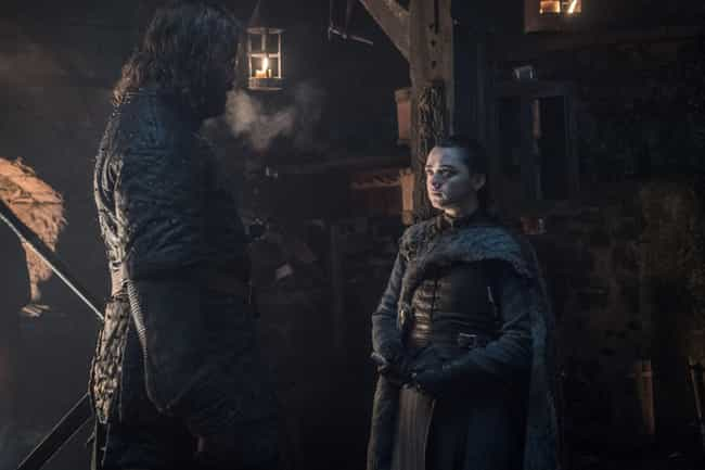 Arya Stark And The Hound... is listed (or ranked) 3 on the list The Best Reunions On 'Game of Thrones'