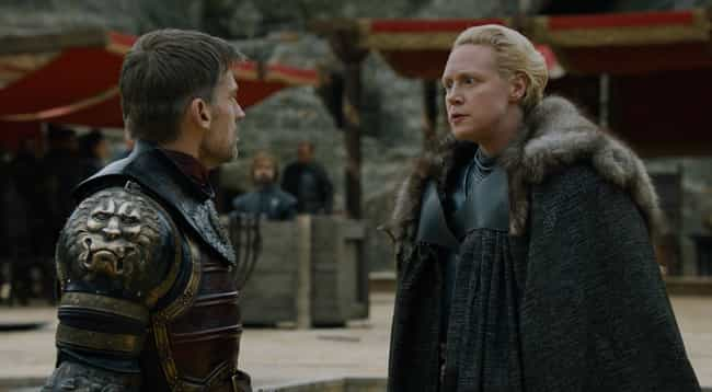 Jaime Lannister And Brienne Of... is listed (or ranked) 4 on the list The Best Reunions On 'Game Of Thrones'