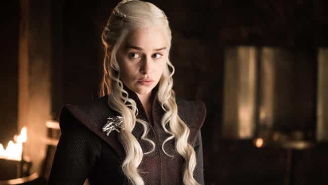 Emilia Clarke Has Hinted About... is listed (or ranked) 4 on the list This Fan Theory About Dany Becoming The Night Queen Is Blowing Up