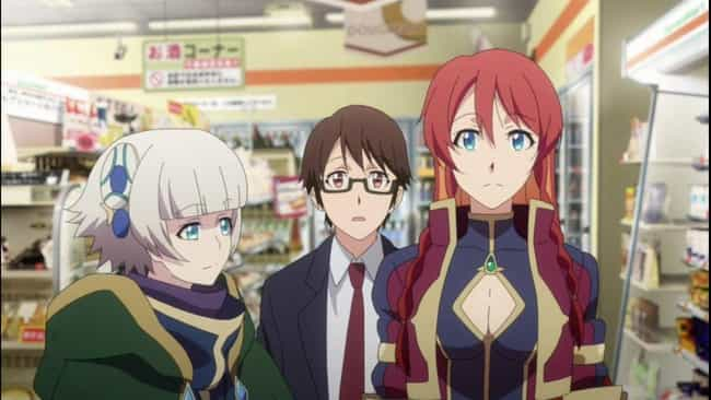 Re:Creators is listed (or ranked) 4 on the list The Best Anime Like AMAZING STRANGER