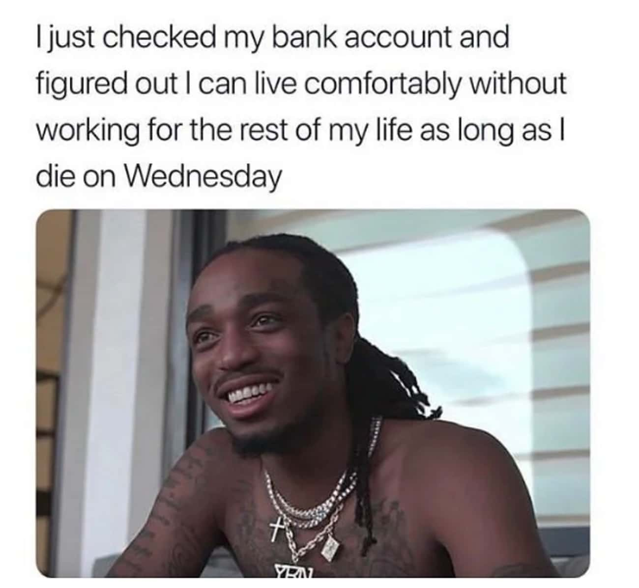 Midweek Blues is listed (or ranked) 2 on the list The 22 Best Funny But Sad Memes
