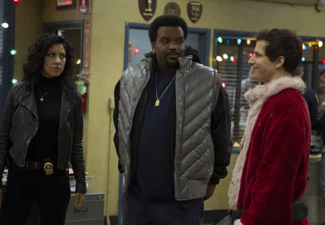 The Pontiac Bandit Retur... is listed (or ranked) 3 on the list The Best Holiday Episodes On Brooklyn Nine-Nine