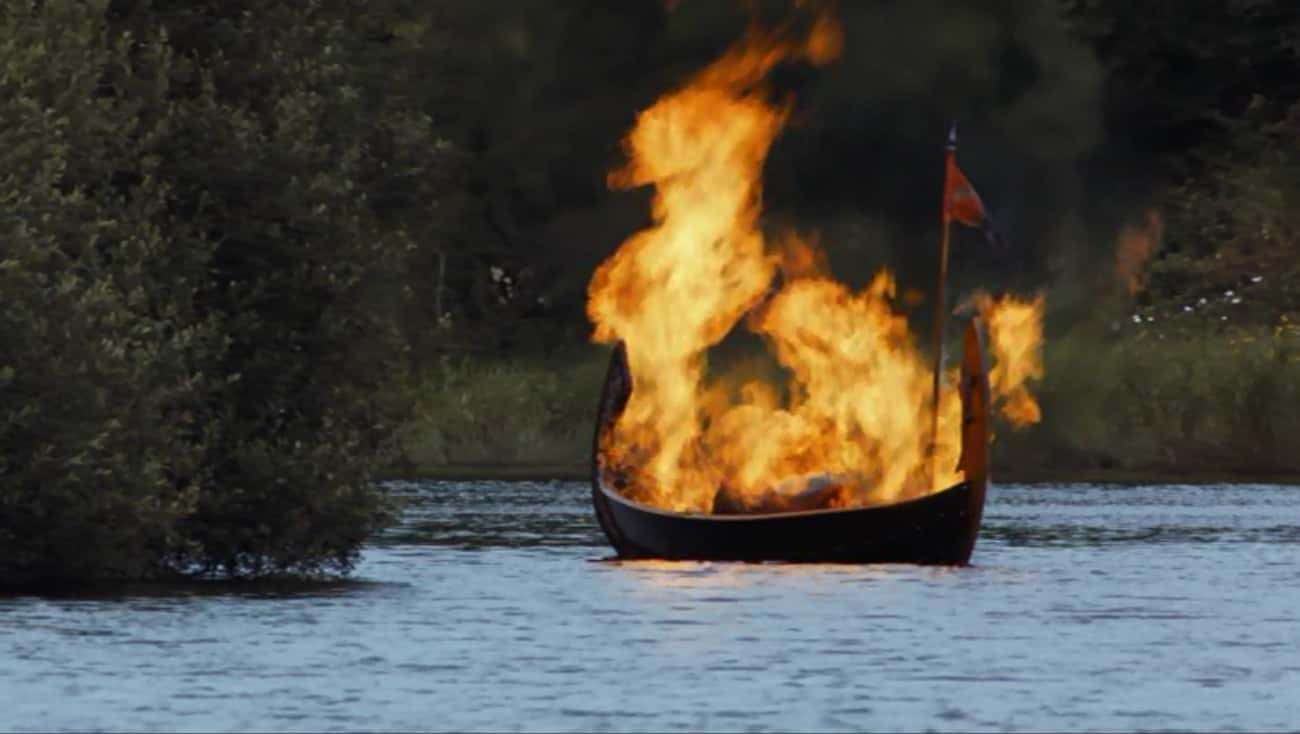 MYTH: Viking Funerals Involved is listed (or ranked) 2 on the list Myths About Vikings, Debunked
