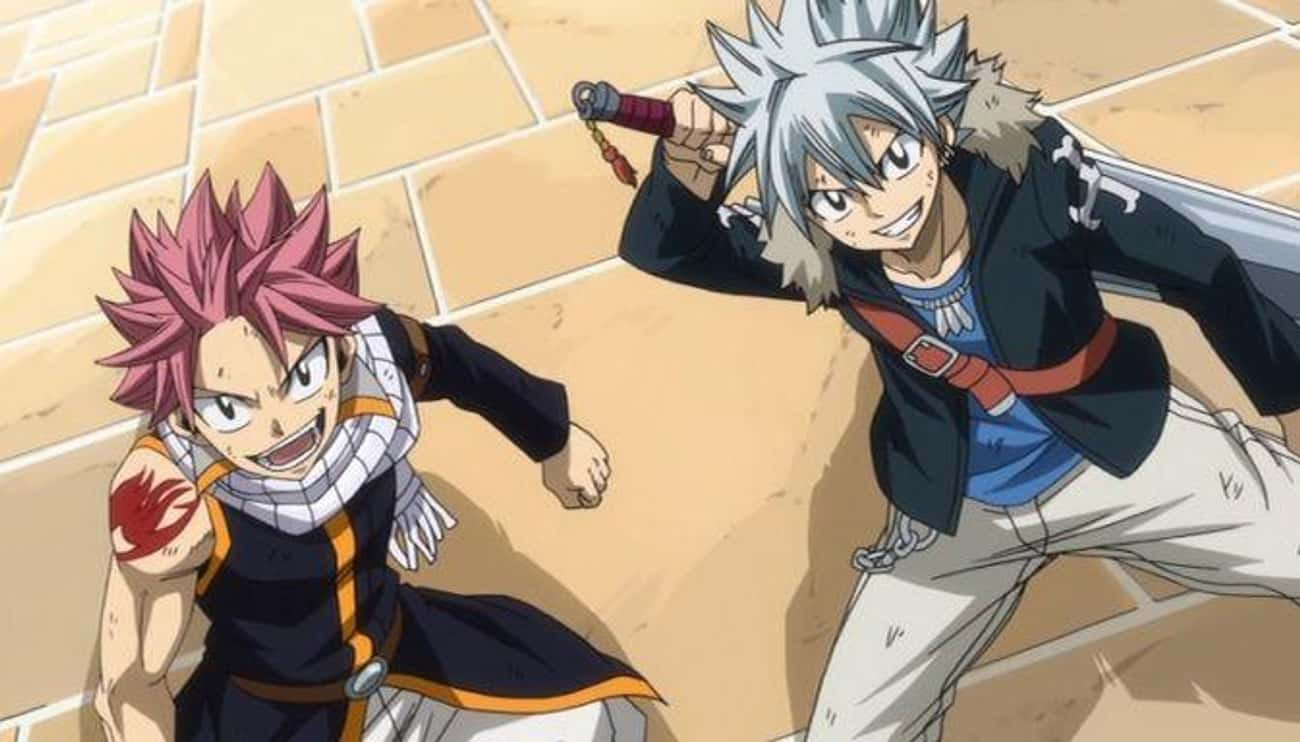 Fairy Tail x Rave is listed (or ranked) 4 on the list The 13 Best Crossover Anime of All Time