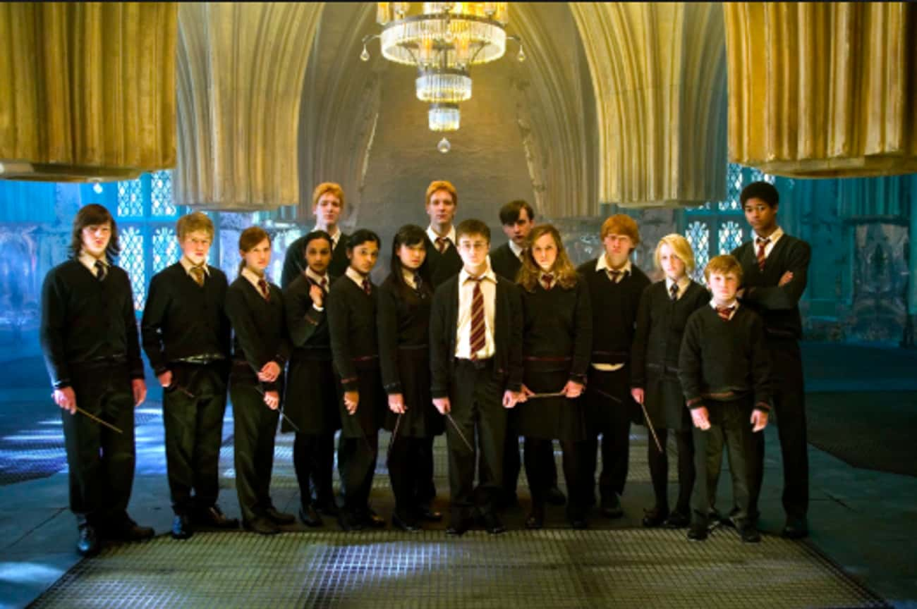 Dumbledore's Army Uses The Roo is listed (or ranked) 1 on the list Everything The Harry Potter Characters Have Used The Room Of Requirement For