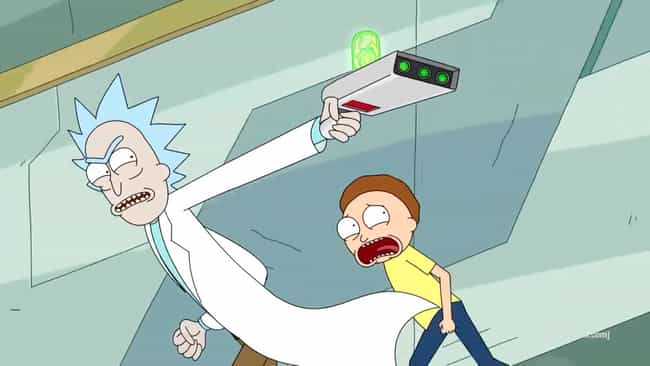 Portal Gun is listed (or ranked) 1 on the list All of Rick Sanchez's Gadgets From 'Rick and Morty'