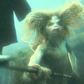 Merperson is listed (or ranked) 2 on the list All The Beasts In The Harry Potter Universe