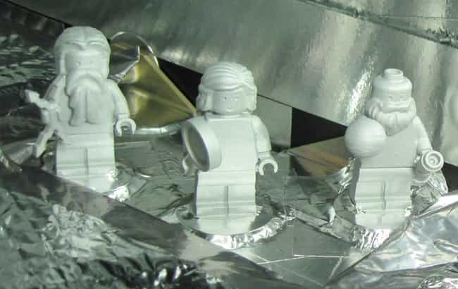 The Roman Gods Jupiter And Jun... is listed (or ranked) 1 on the list All The Rarest And Most Valuable LEGO Minifigures
