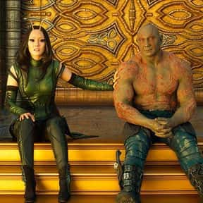 Drantis - Drax/Mantis is listed (or ranked) 3 on the list The Best Non-Canon MCU Couples