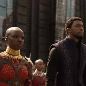 T'Challa/Okoye is listed (or ranked) 13 on the list The Best Non-Canon MCU Couples