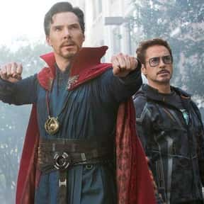 IronStrange - Tony Stark/Steph is listed (or ranked) 6 on the list The Best Non-Canon MCU Couples