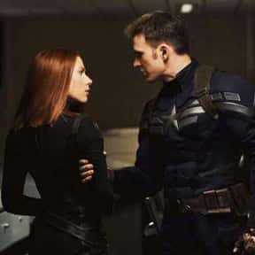 Widowcap - Steve Rogers/Natash is listed (or ranked) 2 on the list The Best Non-Canon MCU Couples