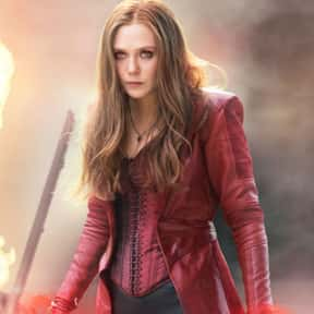 Carol Danvers/Wanda Maximoff is listed (or ranked) 10 on the list The Best Non-Canon MCU Couples