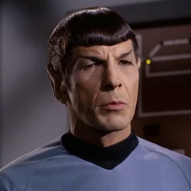 Provocation is listed (or ranked) 1 on the list The Best Spock Quotes
