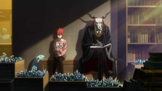 The Ancient Magus' Bride is listed (or ranked) 2 on the list The Best Anime Like Fairy Gone
