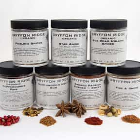 Gryffon Ridge Spice Merchants is listed (or ranked) 15 on the list The Best Spice Brands