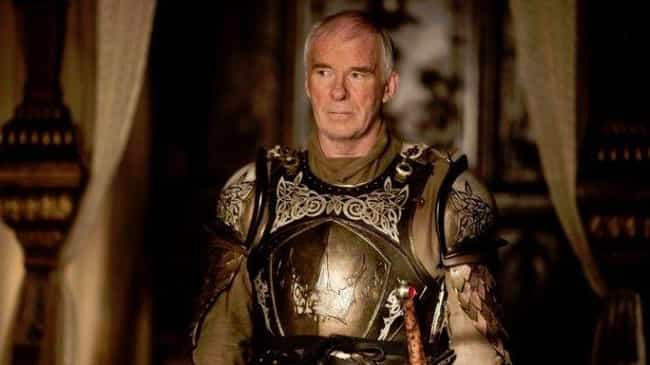 A Surviving Ser Barristan is listed (or ranked) 4 on the list Elements Of 'A Song Of Ice And Fire' You're Saddest Didn't End Up On 'Game Of Thrones'