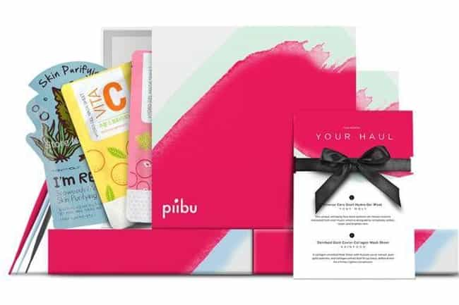 Piibu Box is listed (or ranked) 4 on the list The Best Korean Beauty Subscription Boxes