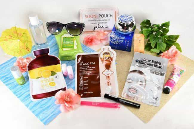 Sooni Pouch is listed (or ranked) 4 on the list The Best Korean Beauty Subscription Boxes