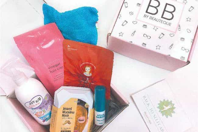 Beauteque Monthly is listed (or ranked) 2 on the list The Best Korean Beauty Subscription Boxes