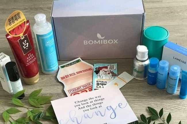 BomiBox is listed (or ranked) 3 on the list The Best Korean Beauty Subscription Boxes