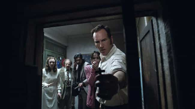 A Stanley Kubrick Look-A... is listed (or ranked) 1 on the list All The Easter Eggs And Connections Between The Films Of The Conjuring Universe