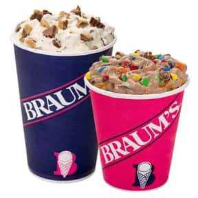 Braum's is listed (or ranked) 25 on the list The Best Ice Cream Brands