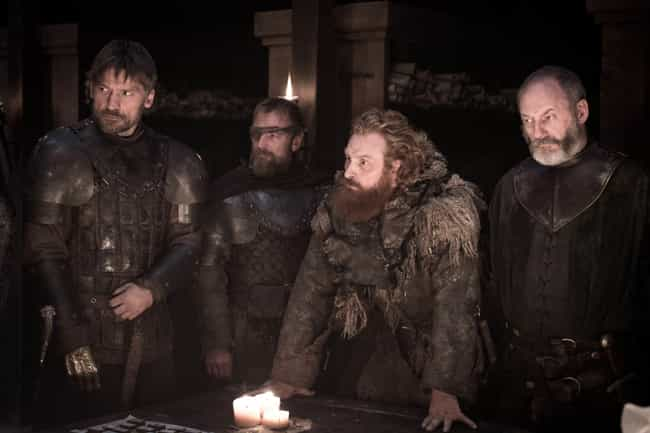 Tormund Says The White Walkers... is listed (or ranked) 4 on the list Everything That Happened In 'Game Of Thrones' Season 8, Episode 2: 'A Knight Of The Seven Kingdoms'
