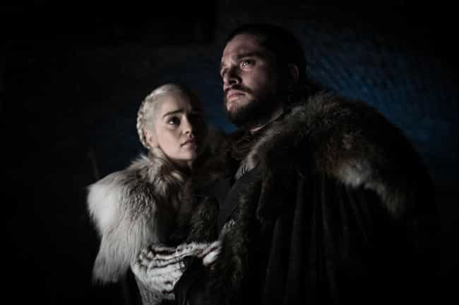 Jon Tells Dany His Real ... is listed (or ranked) 1 on the list Everything That Happened In 'Game Of Thrones' Season 8, Episode 2: 'A Knight Of The Seven Kingdoms'