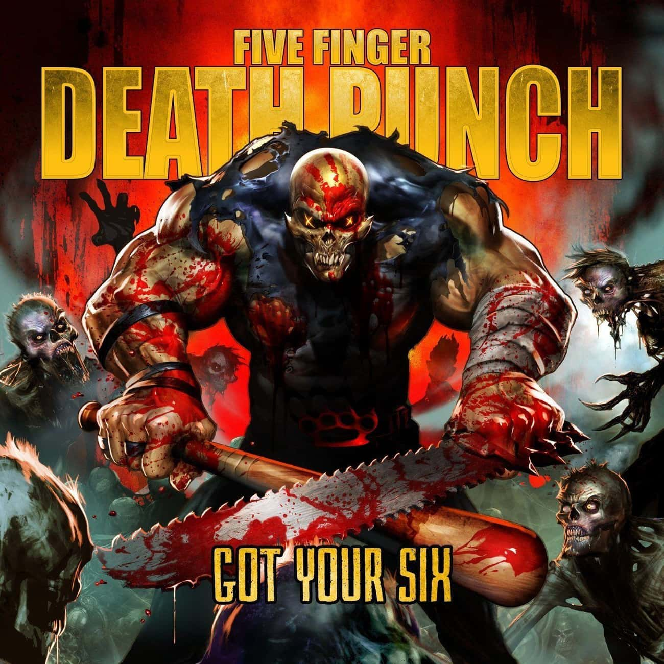 Got Your Six is listed (or ranked) 4 on the list The Best Five Finger Death Punch Albums, Ranked