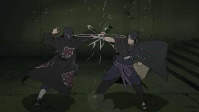 Sasuke vs. Itachi is listed (or ranked) 4 on the list The Best Naruto Fights of All Time