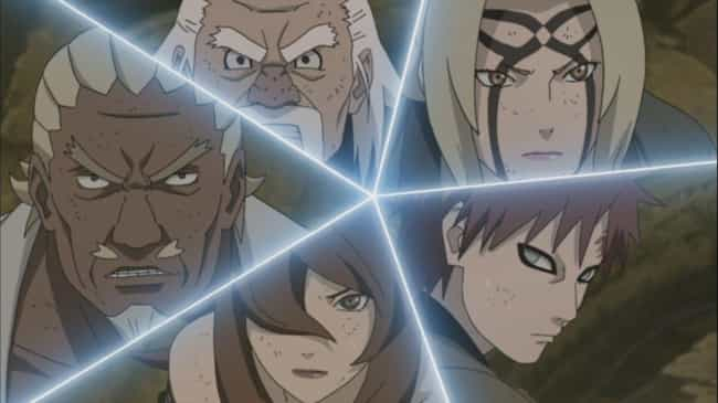 Madara Uchiha vs. The Five Kag... is listed (or ranked) 3 on the list The Best Naruto Fights of All Time