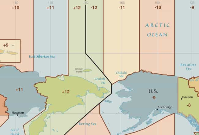 The Islands Are Nearly A Day A... is listed (or ranked) 2 on the list Welcome To The Diomedes, The Two Tiny Islands Smack Dab In The Middle Of Russia And Alaska