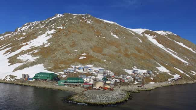 A Small Ingalikmiut Eskimo Com... is listed (or ranked) 3 on the list Welcome To The Diomedes, The Two Tiny Islands Smack Dab In The Middle Of Russia And Alaska
