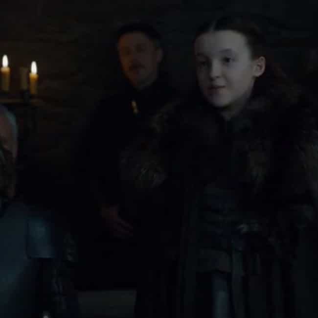 A Northerner is listed (or ranked) 3 on the list The Best Lyanna Mormont Quotes