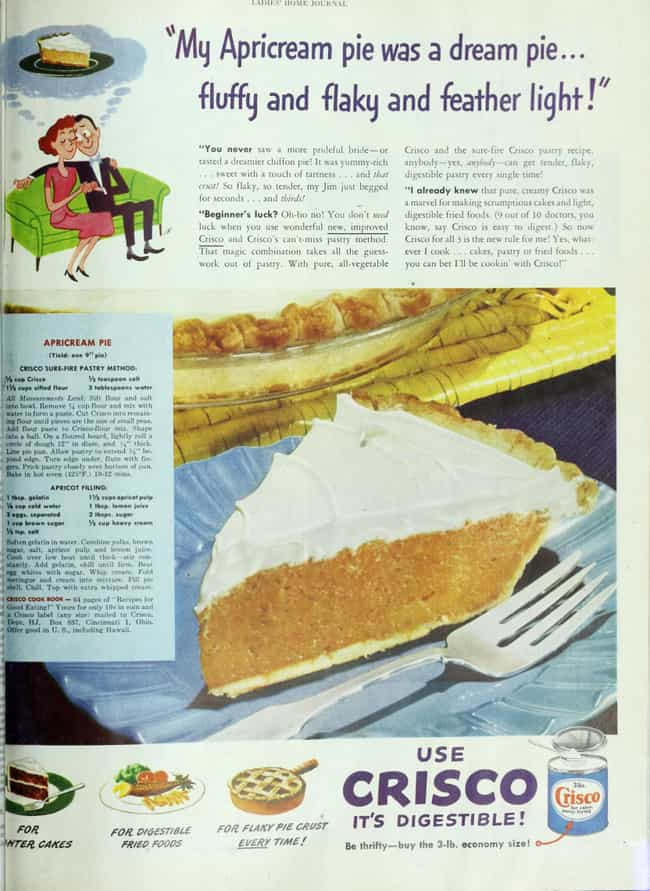 Flaky Baked Goods Were Created... is listed (or ranked) 3 on the list Here's What Nuclear Families Ate In The Postwar Era United States