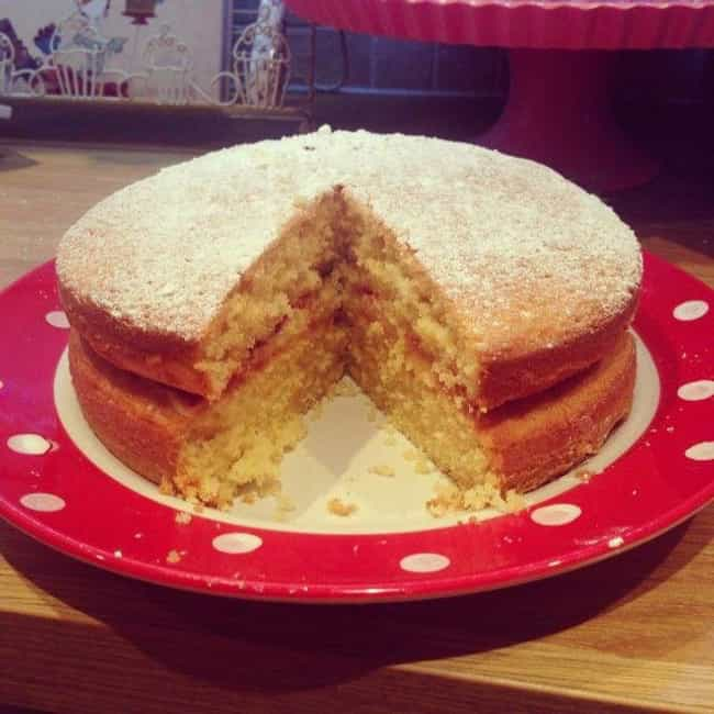 Wartime Sponge Cake is listed (or ranked) 1 on the list Here's What People Ate To Survive During WWII