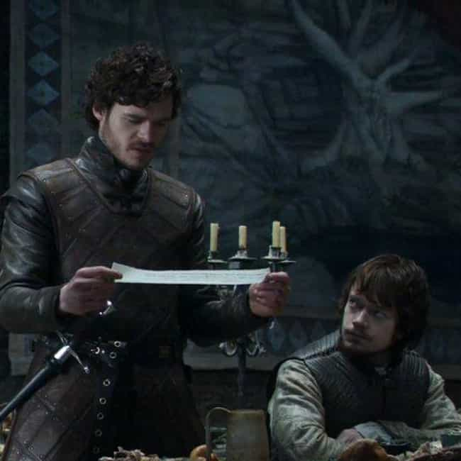 Not Alone is listed (or ranked) 3 on the list The Best Robb Stark Quotes