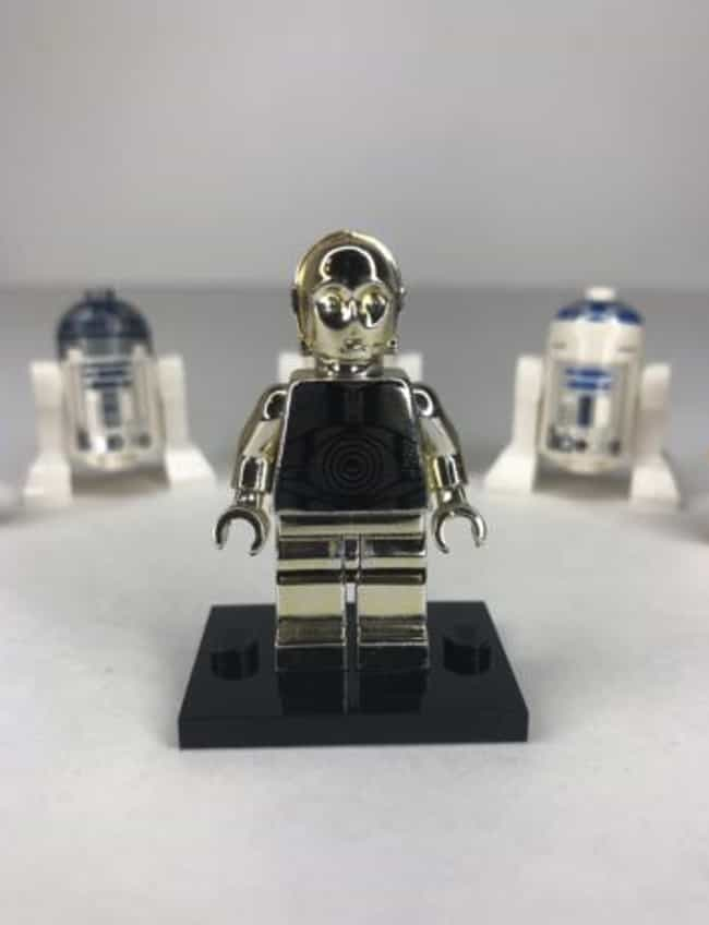 Solid Silver C-3PO (Star Wars ... is listed (or ranked) 4 on the list All The Rarest And Most Valuable LEGO Minifigures