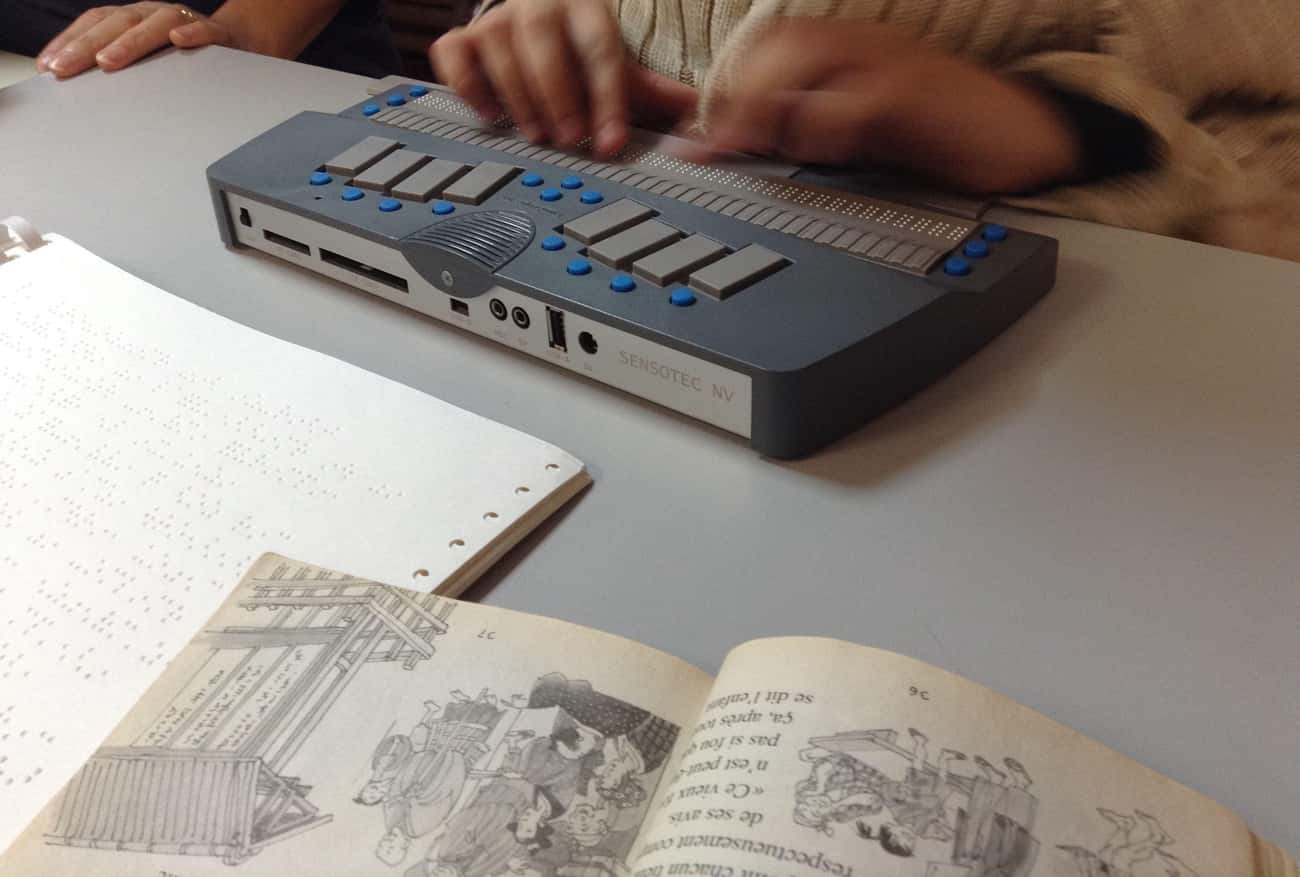 Transcribe Textbooks Into Braille For The Blind